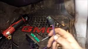 1999 2007 chevy gmc truck blower motor resistor replacement youtube