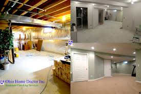 homey design finished basement before and after old homes and