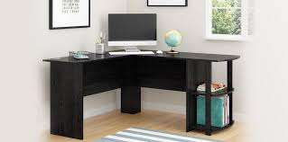 ameriwood home dakota l shaped desk with bookshelves espresso 5 best office tables 2018 top rated home and office desks reviewed