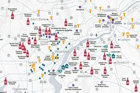 Map Of New Jersey And Pennsylvania by Wine Tours In The Region Have Map Will Travel