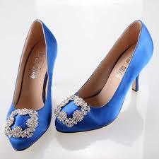 wedding shoes royal blue sweet royal blue bow silk satin shoes wedding princess