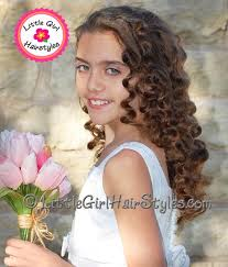 pageant style curling long hair little girls pageant hairstyles naturally beautiful kids pageant