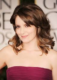 best hair cuts for middle aged round face 17 cute medium hairstyles for round faces 2017 tina fey hair