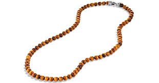 long beads necklace images Lyst david yurman spiritual beads necklace with tigers eye in jpeg