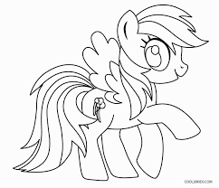 my little pony coloring pages of rainbow dash free printable my little pony coloring pages for kids cool2bkids