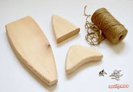 mollymoocrafts wooden fish craft kits for adults