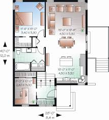 home office floor plans second floor of small home office in a split level house plans