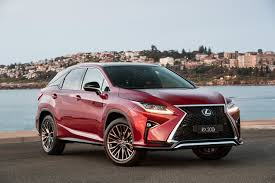 lexus suv 2016 rx 2017 lexus rx range gains more f sport variants price increases