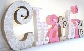 lettres décoratives chambre bébé lettre decorative nouveau photos lettres pour chambre bebe lettre