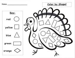 thanksgiving turkey shape activities set by njf tpt