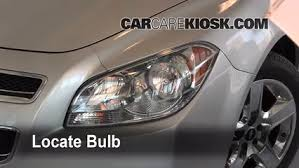 malibu light bulbs replacement headlight change 2008 2012 chevrolet malibu 2010 chevrolet malibu