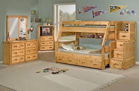 Trendwood Bunkhouse Twin Over Twin Wrangler Staircase Bunk Bed - Trendwood bunk beds