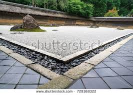 Rock Garden Zen Rock Garden Zen Garden Stock Photo 729168322