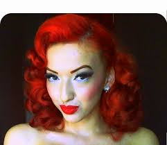 pin curl vintage retro pinup pin curl hair tutorial
