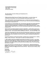 letter from friend and business associate mays defense fund