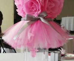 tutu baby shower decorations excellent inspiration ideas princess baby shower centerpieces