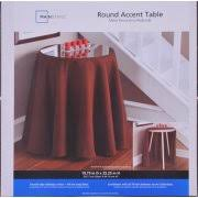 20 round decorative table mainstays 20 round decorative table walmart com