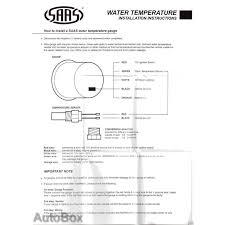 temperature gauge wiring diagram radiantmoons me