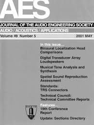 aes e library complete journal volume 49 issue 5