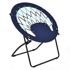 Bungee Chair Folding Home Garden Patio Bungee Chair Steel Frame Outdoor