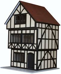Free Doll House Design Plans by Yellow House Replica On Top Architectural Plans Free Tudor Dolls