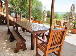 Outdoor Wooden Patio Furniture Foxhunter Garden Patio 8 Seater Wooden Pub Bench Square 01 Picnic