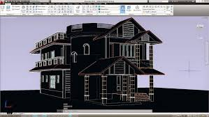 autocad 3d house drawings free download bci design process library