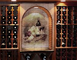 Cellar Ideas Wine Cellar Design Ideas Pictures Of Wine Cellar Tile Murals