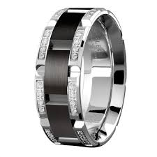 Mens Wedding Rings Tungsten by Wedding Rings Mens Wedding Bands Black Mens Tungsten Carbide