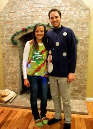 the lehman ites ugly sweater christmas party 2014