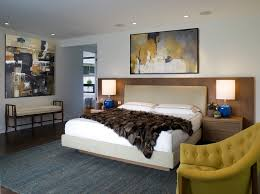Bedroom Taupe Taupe And Teal Painting Bedroom Midcentury With Dark Floor