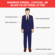 black tie attire what to wear for every dress code business insider