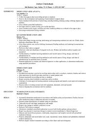 aide resume exles medication aide resume sles velvet