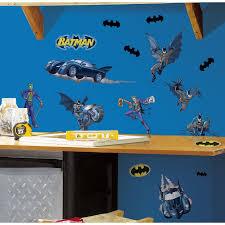Popular Characters Murals Roommates Roommates Batman Gotham Guardian Peel And Stick Wall Decals