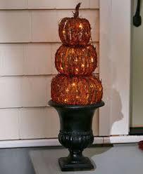 lighted pumpkin ebay