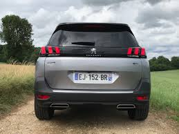 peugeot 5008 trunk 2018 peugeot 5008 review caradvice
