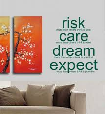 wall decorations for office office wall decor stickers home decor wall decorations for office risk care dream expect decal sticker wall art tattoo words inspire concept