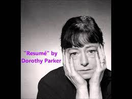 Resume Dorothy Parker