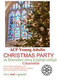young christmas party