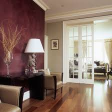 Colour Combination For Wall Plum Walls Accent Wall In Plum Color Venetian Plaster House