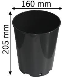 deep rose pots 1 2 3 4 7 litre quality plastic plant pot ebay