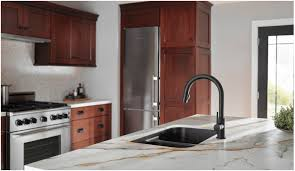 faucet com 9159 cz dst in champagne bronze by delta