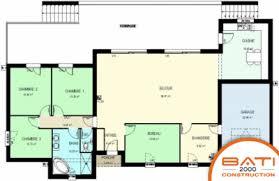 plan maison contemporaine plain pied 3 chambres maison plain pied 3 chambres bureau