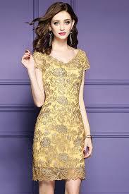 dresses for wedding best 25 gold wedding guest dresses ideas on stunning