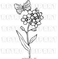free vintage butterfly clip art 67