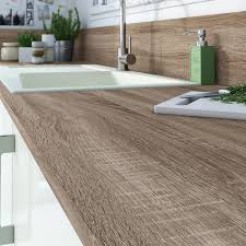 plan de travail noyer plan de travail de cuisine stratifié bois inox recoupable