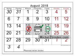 Kalender 2018 Hd Kalender Zum Ausdrucken August 2018 Deutschland