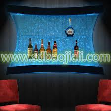 led waterfall acrylic aquarium indoor home decor buy indoor home