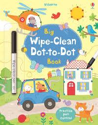 big wipe clean dot to dot book u201d at usborne children u0027s books
