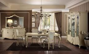 tavoli per sale da pranzo tavolo rettangolare gambe finemente lavorate color avorio per